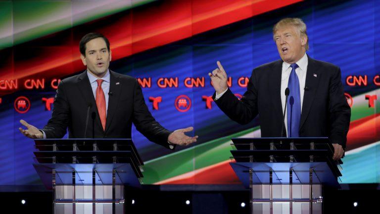 Republican presidential candidate Sen. Marco Rubio