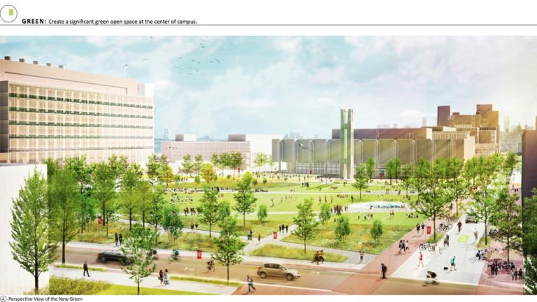 Temple University Landscape Master Plan (Image courtesy of Temple University)