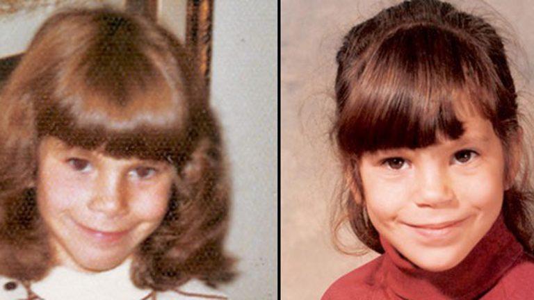 Elyse Schein (left) and Paula Bernstein as children. (Courtesy of Radio Diaries)