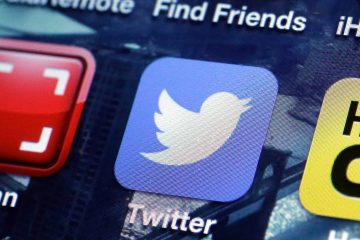 The Twitter mobile site app. (AP Photo/Richard Drew)