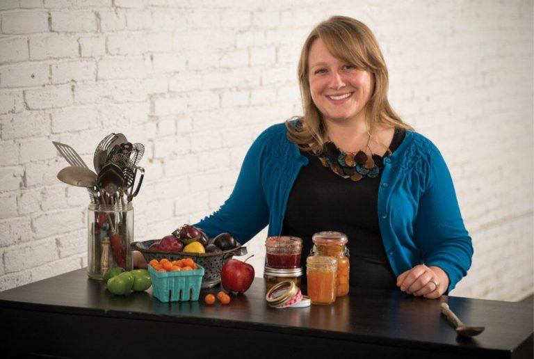 Marisa McClellan's third book focuses on preserving food in jars with natural sugars. (Credit: Steve Legato)