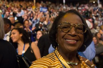 Former Philadelphia Councilwoman Marian Tasco says she expects most Sanders supporters will unify behind Hillary Clinton. (Kimberly Paynter/WHYY)