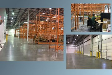 Food Bank of Delaware's new facility at 222 Lake Drive in Newark. (photos courtesy of Food Bank of Delaware)