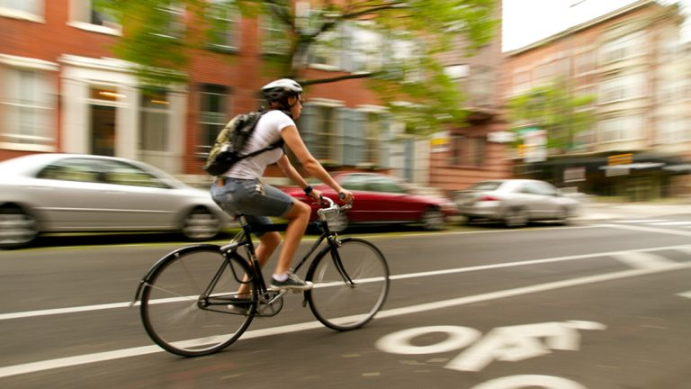 Getting out of your car can help you learn to love the city. (Nathaniel Hamilton/for NewsWorks, file)