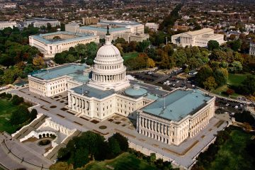 The Capitol in Washington, D.C. is shown in an aerial view. (AP Photo/J. Scott Applewhite, file)