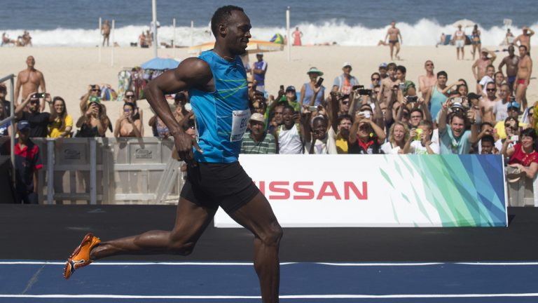 Sprinter Usain Bolt in Rio de Janeiro last August. It was once thought that tall men couldn't be world-class sprinters. Bolt shattered that idea