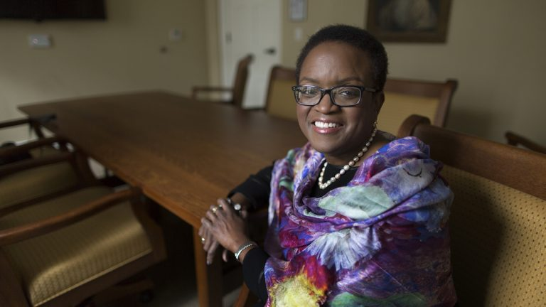 President of Swarthmore College, Valerie Smith (Laurence Kesterson/Swarthmore College)