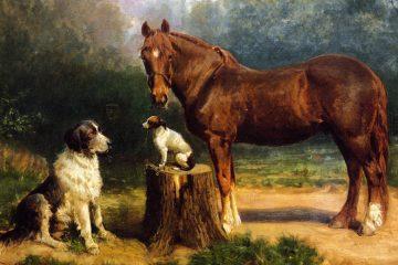 Henry O. Tanner's oil painting