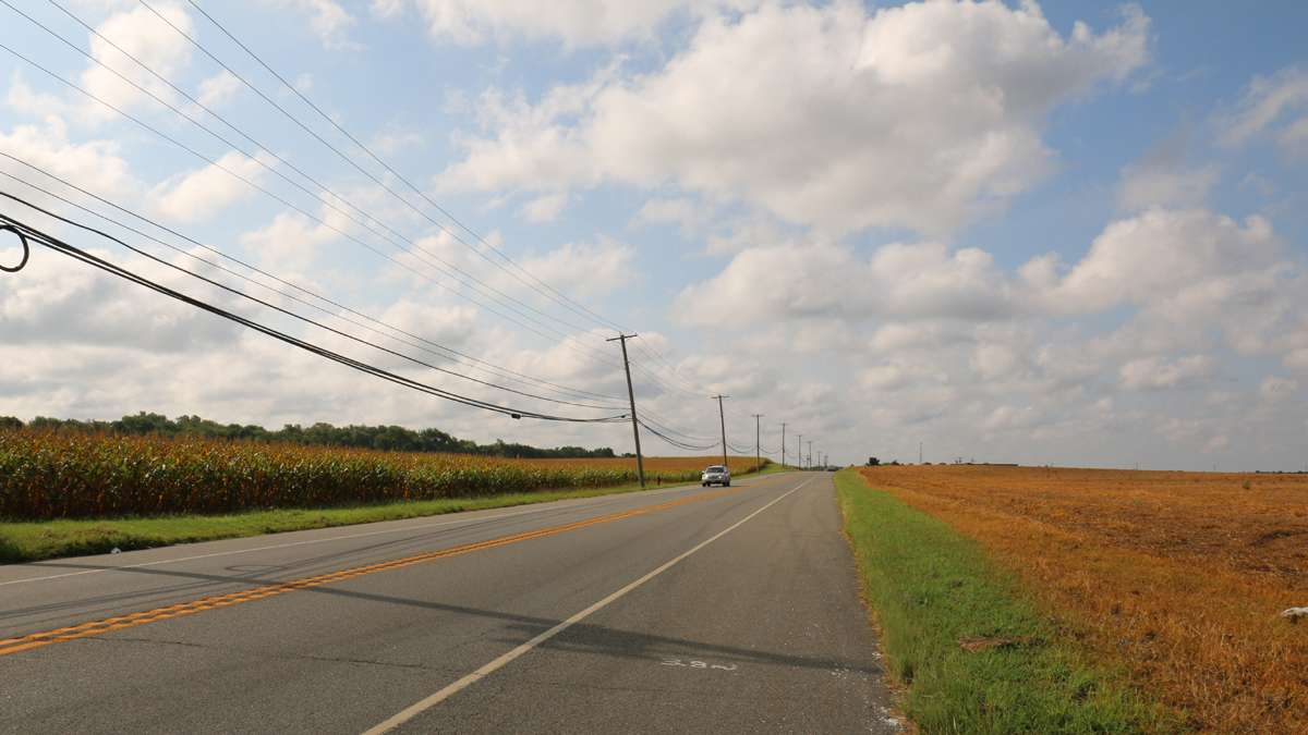 Hopewell Township, in Cumberland County, filed a complaint with the state Board of Public Utilities over problems with Verizon's telephone and Internet services. (Joe Hernandez/WHYY)