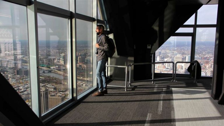 Take in the view at the One Liberty Observation Deck. (Emma Lee/WHYY, file)