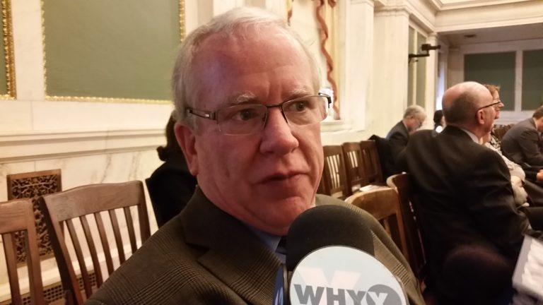 Philadelphia Parking Authority Executive Director Vince Fenerty contends the UberX and Lyft ride-sharing services constitute a