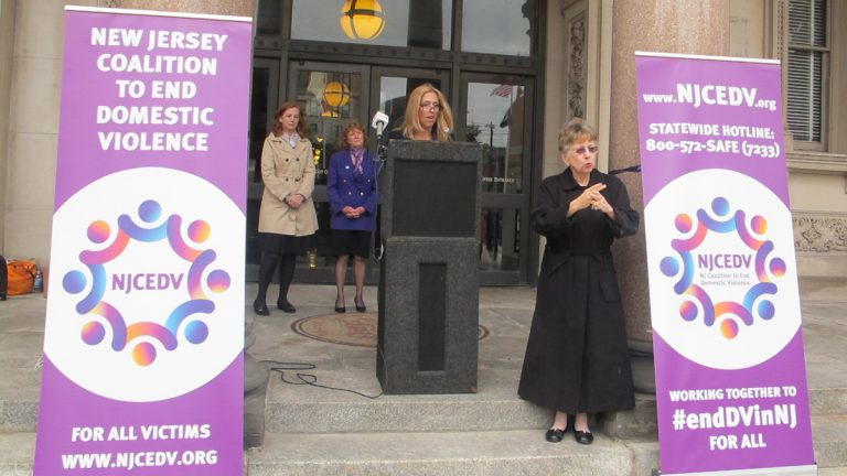 More than 65,000 incidents of domestic violence are reported in the state every year, says Jane Shivas, executive director of the New Jersey Coalition to End Domestic Violence.(Phil Gregory/WHYY)