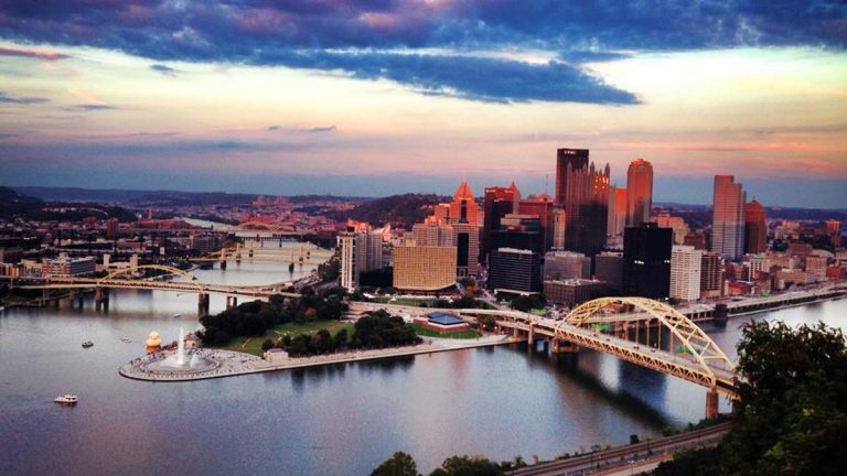 VisitPITTSBURGH reports tourism is healthy and growing in Pittsburgh and Allegheny County, with an estimated $55 billion in spending tied to the industry.  (Deanna Garcia for 90.5 WESA)