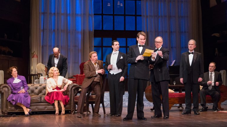Agatha Christie's 'And Then There Were None,' onstage at Walnut Street Theatre through April 26. (Photo by Mark Garvin.)
