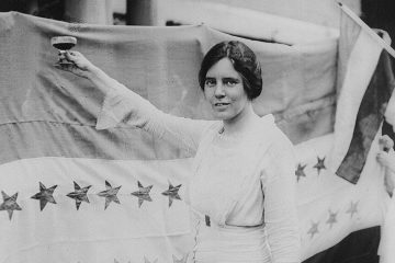 'Alice Paul' by Harris & Ewing, Inc. (This image is available from the United States Library of Congress's Prints and Photographs division/Licensed under Public Domain via Commons https://commons.wikimedia.org/wiki/File:Alice_paul.jpg#/media/File:Alice_paul.jpg)