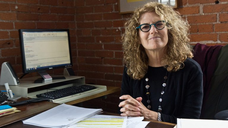 Nora Lichtash is the Director of the Women's Community Revitalization Project. (Kimberly Paynter/WHYY)