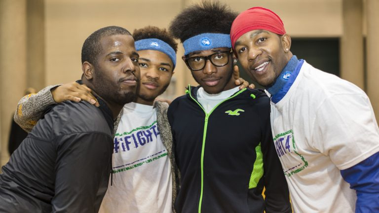 Philadelphia FIGHT's Youth Health Empowerment Project participants (Photo by Holly Clark)