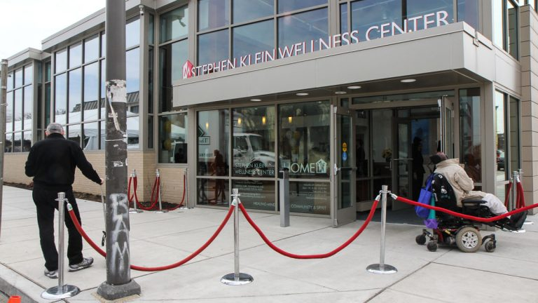 The Stephen Klein Wellness Center is located at 2133 Cecil B Moore Avenue. (Kimberly Paynter/WHYY)