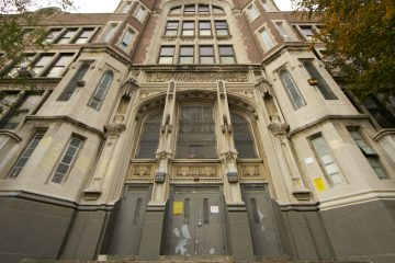 The West Philadelphia High School building is located at4700 Walnut Street. (Nathaniel Hamilton/for NewsWorks)