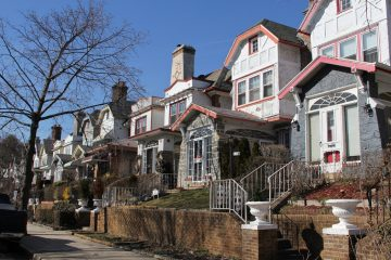 A neighborhood in West Philadelphia. (Emma Lee/WHYY, file)