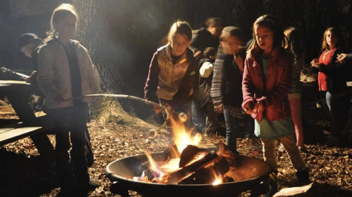 Roast marshmallows at this weekend's Winterfest at the Schuylkill Environmental Center. (Kristen Mosbrucker/for NewsWorks, file)