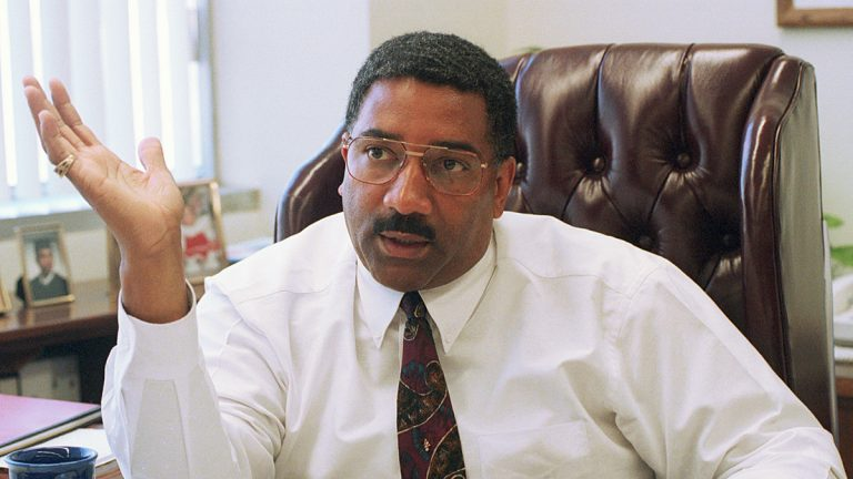 Willie Williams in shown in 1995 in Los Angeles