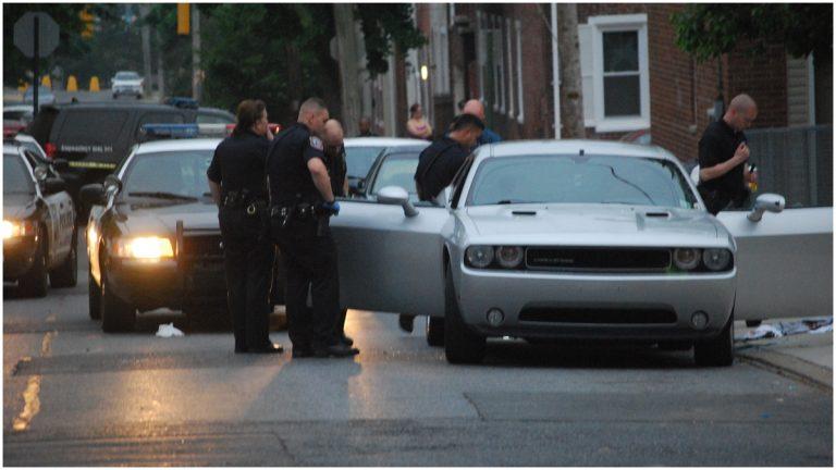 Investigation in 500 block of Jefferson St., Wilmington (John Jankowski/for newsworks)
