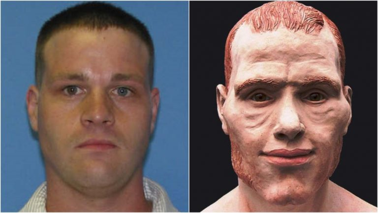 Ian Withrow's remains were identified thanks to the work of a Texas forensic artist. (photos courtesy Dover Police)