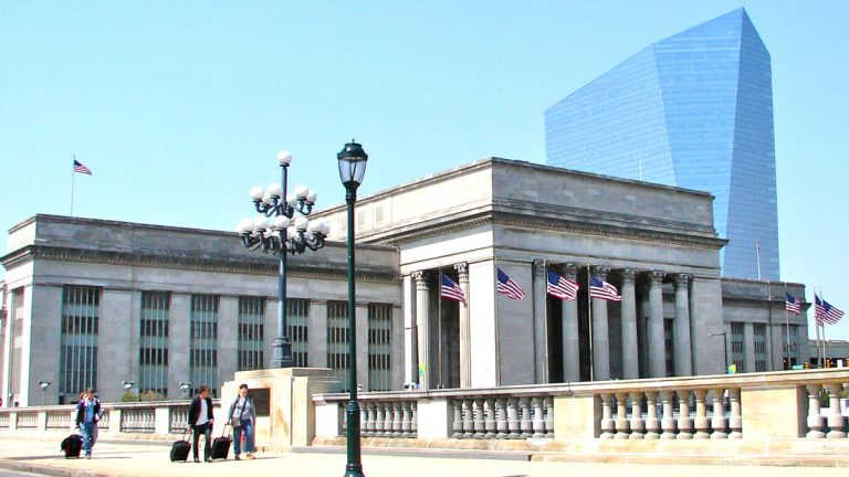 30th Street Station in Philadelphia (Image courtesy of WikiMedia Commons)