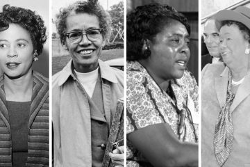 From left: Daisy Bates, Pauli Murray, Fannie Lou Hamer, Dorothy Height
