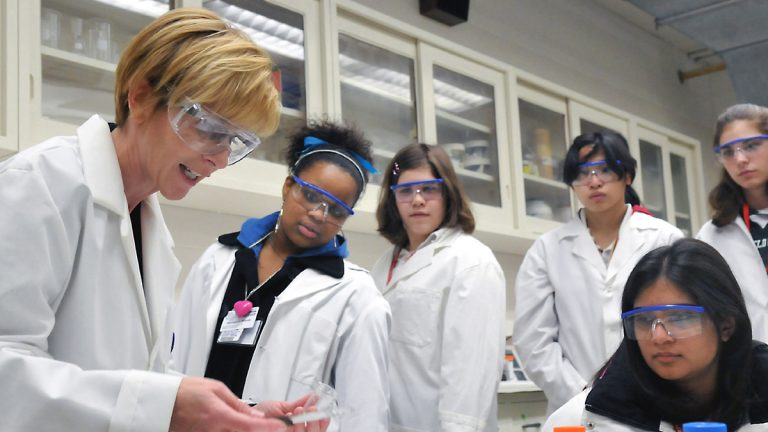 There are fewer women in STEM fields than men. One study looked at that hiring disparity