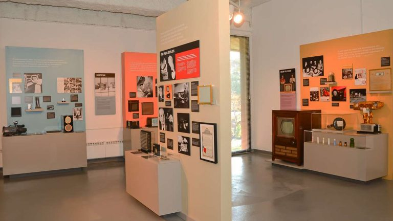 The Sarnoff Collection at the College of New Jersey opened last October. (Photo courtesy of Jessi Franko, file)