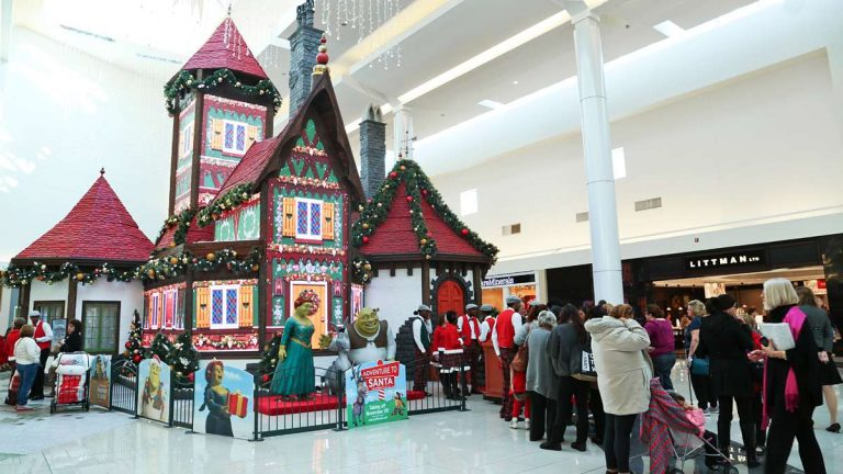Adventure to Santa opened at Cherry Hill Mall in 2014. Visitors were required to make an appointment, but the attraction was free. (Newsworks file photo)