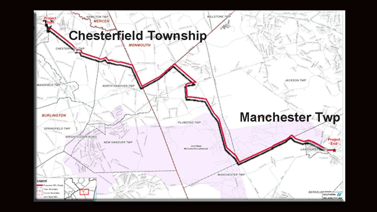 A proposed pipeline would move natural gas across three New Jersey counties.