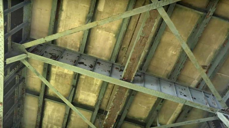 The bridge that link Pennsylvania and New Jersey is 'structurally deficient' but is considered safe. (Image courtesy of DRJTBC)