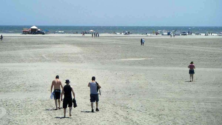 Why Wildwood's beaches are so big - WHYY