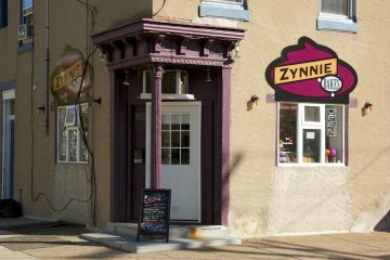 Zynnie Bakes sells cookies, cupcakes, and confections. But not bread. (Nat Hamilton/for NewsWorks)