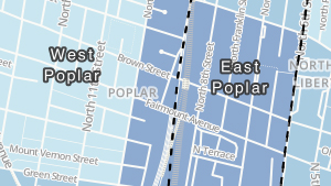 East Poplar, West Poplar