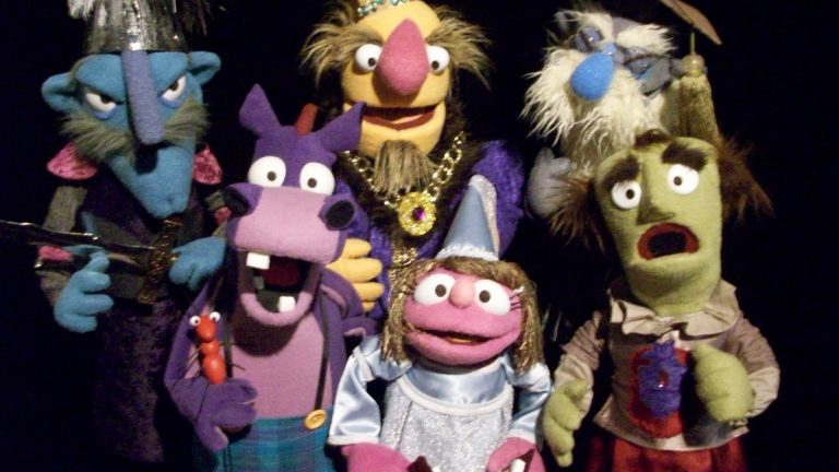 Puppeteers from