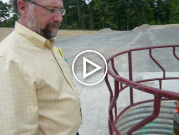 Visit a well pad in Bradford County where gas drilling will soon begin. Mark Madden, a Penn State Extension Officer, shows us his family's leased land. (Video by Kerry Grens. Edited by Kimberly Paynter.)