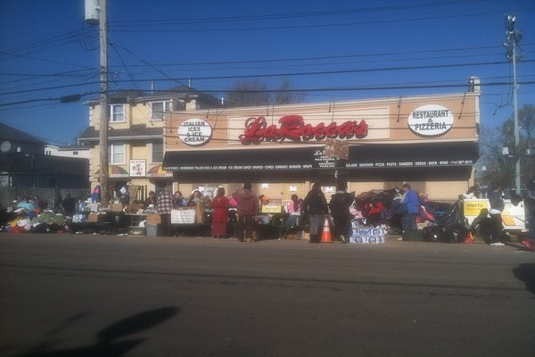 <p><p>Donations taken right on the street near Midland Beach in Staten Island (Photo credit: Sam Gerlach)</p></p>