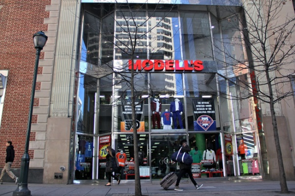 <p><p>Property taxes are expected to decrease for 1528 Chestnut St., where Modell's Sporting Goods is located. Overall, the property tax burden is expected to shift from businesses to homeowners under AVI. (Emma Lee/for NewsWorks)</p></p>