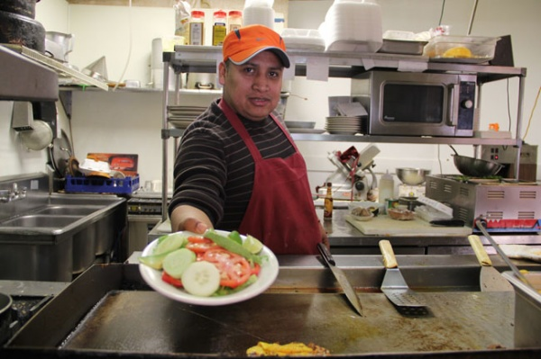 <p><p>Armando Perez, owner of El Zarape restaurant on Passyunk Avenue, says his landlord's property tax bill could almost double. If that cost gets passed on, Perez says he might have to find a new location. (Emma Lee/for NewsWorks)</p></p>