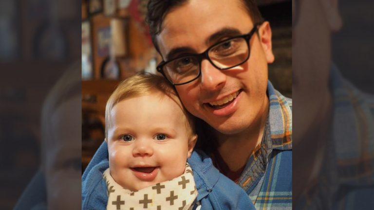 Rob Stahl and his son Elias (Photo courtesy of the Stahl family)