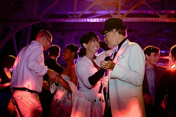 <p><p>24. Couples put on the Ritz and glitz for the second annual Dance on the Falls Bridge. The event was put on by the East Falls Development Corporation. (Jana Shea/for NewsWorks)</p></p>
