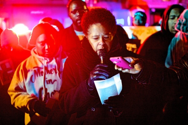 <p><p>30. As the New Year was getting ready to begin, the names of the 300-plus homicide victims in 2011 were read aloud in Germantown. (Bas Slabbers/for NewsWorks)</p></p>
