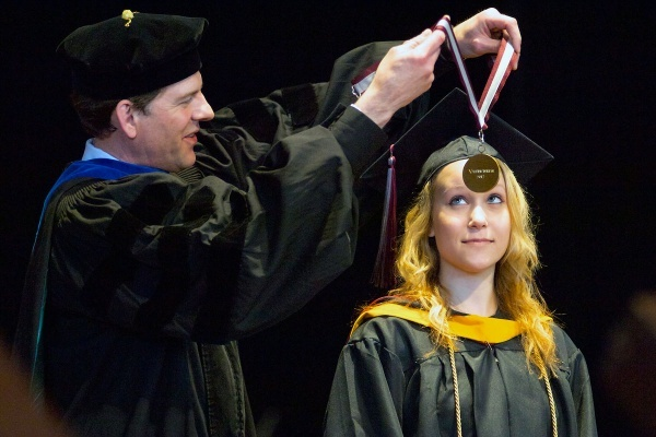 <p><p>40. Class of 2012 Valedictorian Alexandra P. Jared receives an award of excellence. (Bas Slabbers/for NewsWorks)</p></p>