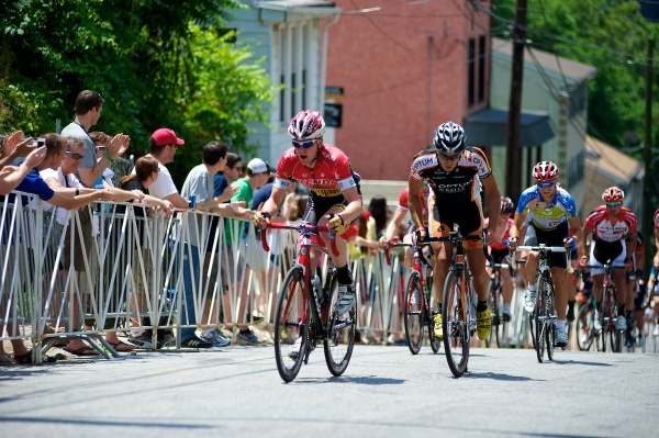 <p><p>19. Cyclists make their way up the Manayunk Wall for the 2012 Philadelphia International Cycling Championship. (Bas Slabbers/for NewsWorks) </p></p>