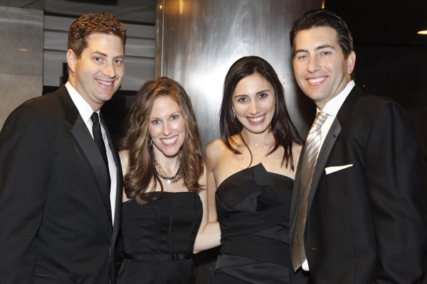 <p><p>David and Mindy Reibstein (left), and Dayna and Seth Horwitz (Photo courtesy of Scott Weiner)</p></p>