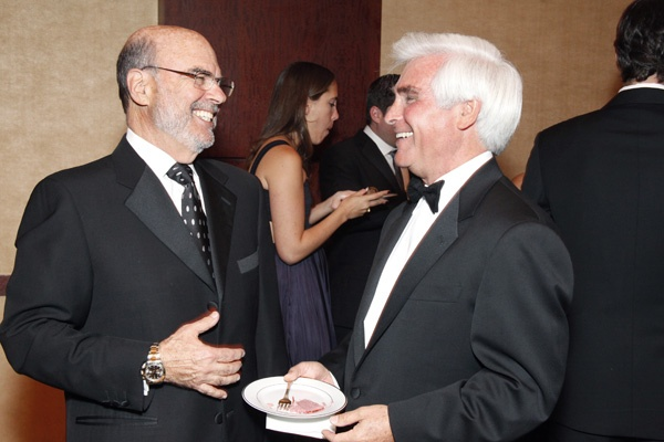<p><p>Dr. Barry Green (left), and Abramson Center trustee, Richard Frankel (Photo courtesy of Scott Weiner)</p></p>
